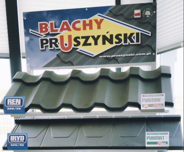 Blachy pokrycia dachowe pruszyński konstal iława