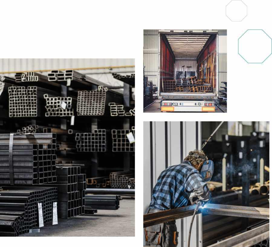 Główna profile spawanie transport ciężarowy